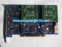 Wholesale TDM410P With FXS green module TDM410 S TRIXBOX IP PBX ZAPTEL