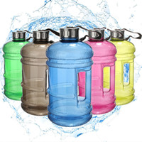 Wholesale New Portable L Plastic Big Large Capacity Gym Sports Water Bottle Outdoor Bike Camping Cycling Kettle