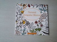 Wholesale Natural Singular Mirror Pages Secret Garden Styles Coloring Book For Children Adult Relieve Stress Painting Drawing Books