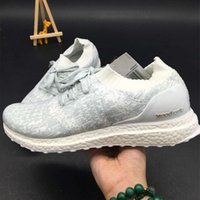 Wholesale 2017 New Men s Grey white Sports shoes Women s Casual shoes Boys Girls Shoes Authentic Unisex Outdoor Running shoes
