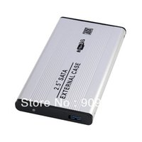 Wholesale 2 inch External SATA Hard Drive Portable Case HD Enclosure USB Brand New