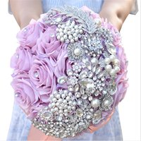 Cheap Bouquet wedding bouquet Best Satin Chinese New Year bridal bouquet