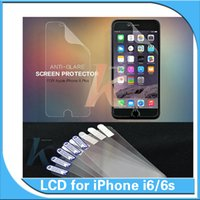 Wholesale For iphone inch Plastic Film iphone plus inch Clear Screen Protector Film Cover Guard Protection with Cleaning Cloth No Package