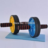 Wholesale New cm Plastic And PVC Abdominal Wheel Ab Roller For Fitness Equipment Lose Weight home gym and exercise equipment
