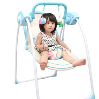 baby electric cradle - 2016 Hot Sale Emperorship Electric Baby Rocking Chair Baby Rocking Chair Chaise Lounge Chair Cradle Bed Swing