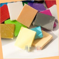 baking modeling clay - g block Beijing third generation of oven bake clay Polymer clay FIMO Soft clay modeling Basic color