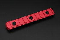 Wholesale Hot Rail Sections Slots Key Mod Handguard Rail Scope Mount Sections Red High Quality