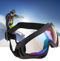 Wholesale Men Women SKiing Eyewear Anti mist Ski Goggles For Adults Big Frame Color Lens Glasses Mirror Snowboard Sunglasses Drop Shipping