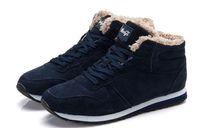 2016 Mode Hommes Femmes Bottes de neige d'hiver garder bottes chauds bottes de cheville en peluche chaussures de travail en neige Bottes de neige d'extérieur des femmes pour hommes 36-46