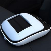 Wholesale Smart Solar Car air purifier anion car removal of formaldehyde smoke pm2 Free DHL