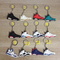 basketball key chains - 2016 cheap sale hot sale Key buckle key chains basketball shoes running shoes sports sneakers fashion style good quality retro