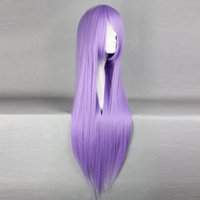 athena wig - Heat Resistant gt gt Women s Lolita Party Saint Seiya Athena Saori Kido Long Light Purple Cosplay wig