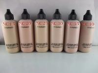 Wholesale Hot sale M Professional Makeup Liquid Foundation Face And Body Foundation Fond De Teint ml dhl
