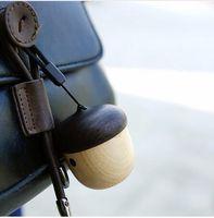 backpacks speakers - Bluetooth Speaker Portable Mini Speaker Cute Wooden Nut Shape Unique Design Outdoor Loudspeaker For Phone Backpack Travel