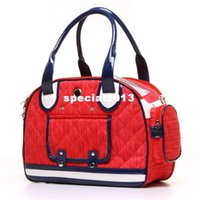 Wholesale Pet supplies Fashion dorgan denim pet bag portable dog pack cat pack pet carrying bag