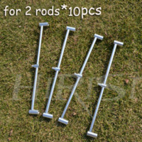 Wholesale 10pcs Fishing pod buzz bar for fishing rods fishing rod holder Fishing Rods Cheap Fishing Rods