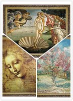 Wholesale The global sell like hot cakes world famous paintings Puzzle adult world famous children s educational toys Variety gift