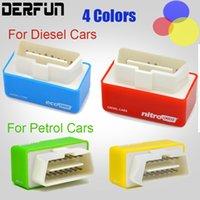 Recensioni Dodge nitro-4colors Nitro OBD2 per Benzine Benzina / Diesel Auto Plug Unità OBD2 Chip tuning Più energia, maggiore coppia