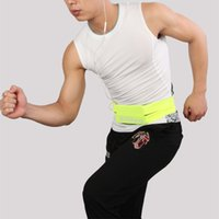 Wholesale 2016 Newest Cycling Jogging Sport Waist bag Fashion Polyester Men Women fanny pack Running belt for Mobile Phone
