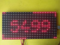 Wholesale Red LED Display P10 Dot Matrix Module sign X32 Surface Mount