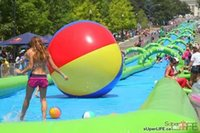 Wholesale water slide Pipe Slide water slide Extreme large outdoor inflatable recreation M long playing in summer paying on the park