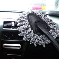 Wholesale Hot Sale PC Multifunctional Car Duster Cleaning Dirt Dust Clean Brush Dusting Tool Mop Gray Brush EA10672