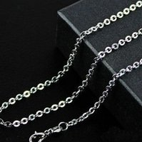 Wholesale fashion jewellery Stainless Steel chain Necklace top quality lowest price