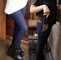 Wholesale 2016 new autumn Korean version of a solid color boy pants girls fashion sequins leggings girls casual pants tide