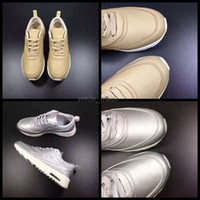 Wholesale 2016 Max Rio Olympics Running Shoes For Women Men Gold Silver High Quality Sneakers Outdoor thea Sports Shoes Eur