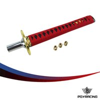 automobile spare parts - PQY RACING For Ninja KATANA Shift Knob For Automobile Spare Part Speed Chrome Samurai Sword Handle For Most Vehicles PQY SK94RD