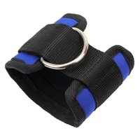 ankle strap cable - New Gym Fitness Workout D Ring Ankle Strap Leg Thigh Multi Cables Attachment SP00633S01