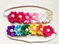 best hair photos - Best Selling Baby Head Bands Hair Accessories Hair Wraps Head Flowers In Colors Infant Photo Prop Colors CF311