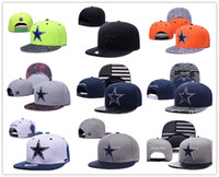 Wholesale 2016 newes Cowboys Dallas Snapback Caps Adjustable Football Snap Back Hats Snapbacks High Quality Players Sports