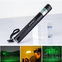 Wholesale 2016 The latest Green Red Blue Violet laser pointers high power nm focus able can burn match burn cigarettes pop balloon SD laser