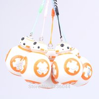Wholesale Star Wars BB Keychain Animal Cartoon Action Figures Collection Kids toys Gift for Children boys girls