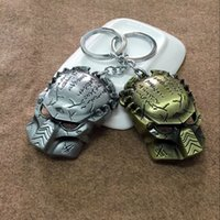 alien vs predator requiem - DHL New Fashion Movie Series Aliens vs Predator Requiem Mask Key Chain alloy Keyring Keychain