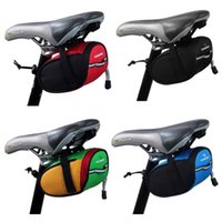 bicycle seat bar - Roswheel Outdoor Cycling Mountain Bike Bicycle Saddle Bag Back Seat Tail Pouch Package DHL