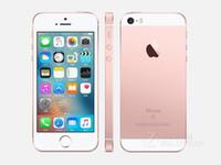 apple gb - Original Brand New Unlocked Apple iPhone SE quot inch GB ROM GB RAM MP A9 Chip iOS Fingerprint Dual core G LTE Smartphone