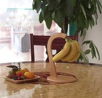 bamboo banana holder - Natural Bamboo Banana Hook Holder Free Standing Home Kitchen Decor