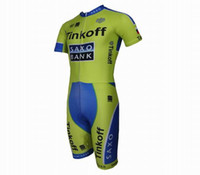 Wholesale 2015 SAXO BANK Thinkoff Cycling Skinsuit Bike Clothing wear triathlon riding tri clothing Ciclismo Maillot outdoor sports clothes