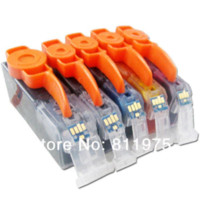 Wholesale 15pcs PGI BK CLI BK C M Y color ink cartridge For canon PIXMA MP550 MP560 MP620 MP620B MP630 MP640printer