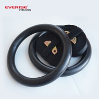Wholesale pair ABS Plastic Olympic Gymnastic Rings wit Ring Straps for Full Body Strength and Crossfit Training Colors Available