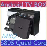 android programs - 10X Selling Android MXQ MXG MXS TV BOX Amlogic S805 Quad Core Android Airplay Programs Media Player KODI14 Rooted A TH