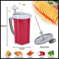 best fried potatoes - 2015 new type manul potato spiral cutter best quality for home use
