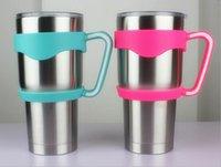 Wholesale 2016 New American YETI Cup cars handle OZ stainless steel handle oz beer mug cup handle