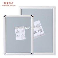 Wholesale Jabao J B1Poster Frame aluminum snap frame Front Loading Quick Poster Change Wall Mounted Certificate Frame factory outlet