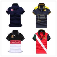 Wholesale 2016 High quality men s brand Cotton T shirt men POLO T shirt retro Leisure golf tennis undershirt men s T shirt