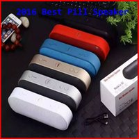 best pill box - 2016 beast pill speaker best bluetooth Pill XL speaker TF AUX USB wireless big sound box pk BT50 BT808