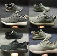 Wholesale Top Quality Kanye Milan West yezy Boost running shoes Pirate Black Men Trainers Shoes yezy Women Sports Shoes With Box