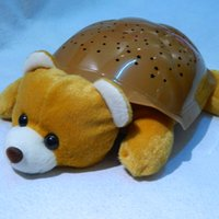 bear touch lamp - 2 Colors Musical Bear Night Light Stars Constellation Lamp Turtle Toys Without Box pc
